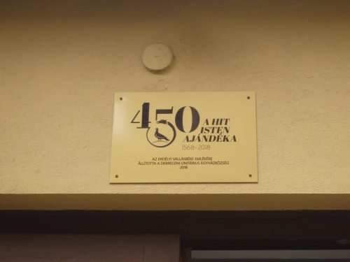 450-emléktábla